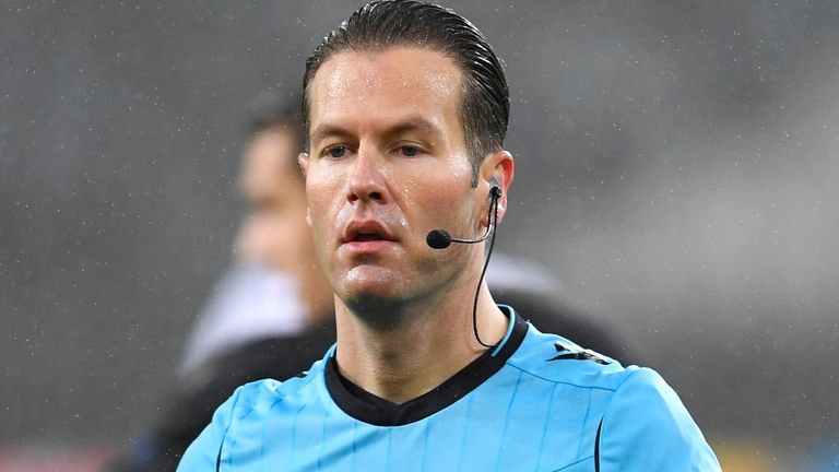 Danny Makkelie will referee the first leg of Chelsea's Champions League semi-final against Real Madrid (AP)