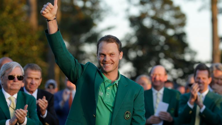 No 1: Danny Willett's choice of roast beef was Chef Michel's top choice