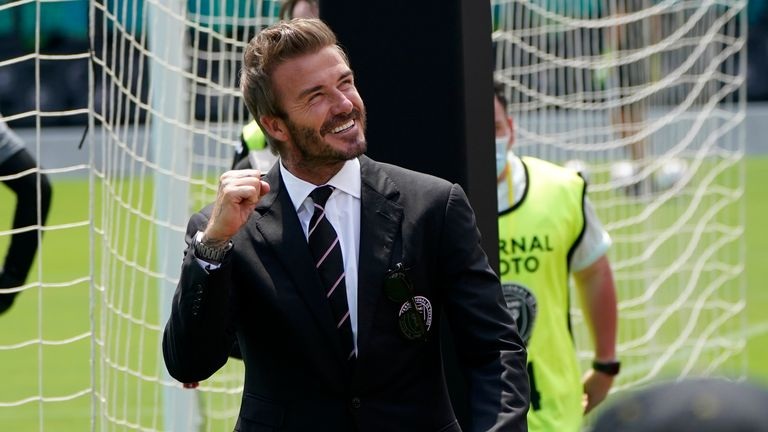 David Beckham was present for Inter Miami's defeat to LA Galaxy