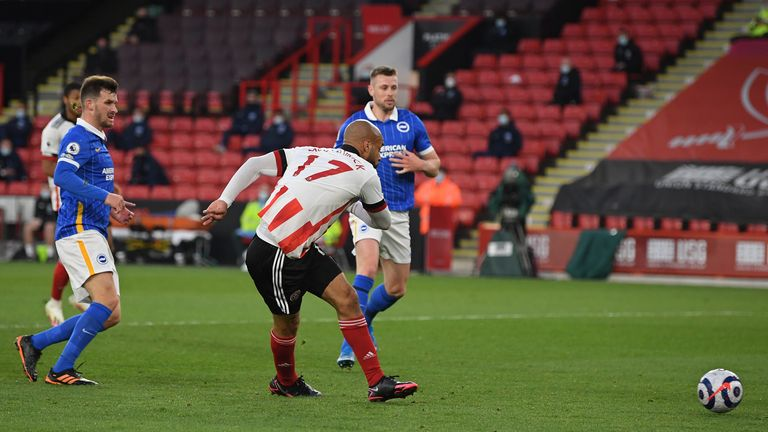 McGoldrick swivels to find the net in scrappy fashion
