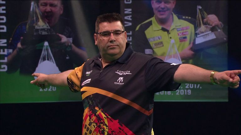 De Sousa landed his second televised nine-darter on Night 4 of this year's Premier League