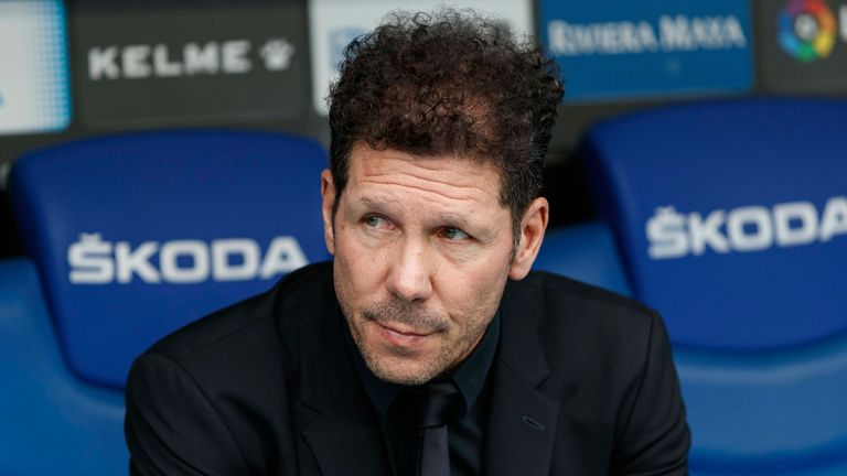 Atletico Madrid head coach Diego Simeone says change will happen regarding the structure of European football