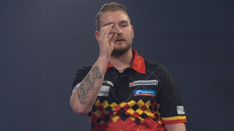 Dimitri Van den Bergh is relishing his Premier League Darts bow
