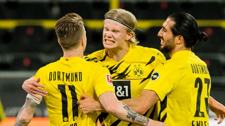 Marco Reus set Borussia Dortmund on their way to victory over Union Berlin