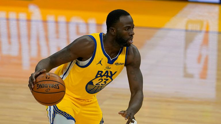 AP - Golden State Warriors' Draymond Green