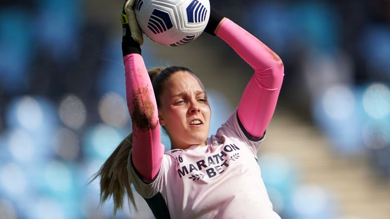 Ellie Roebuck says she will be fully focused on the upcoming England games