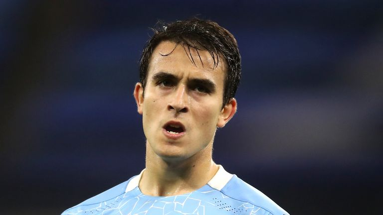 Eric Garcia has not started a Premier League match since October last year