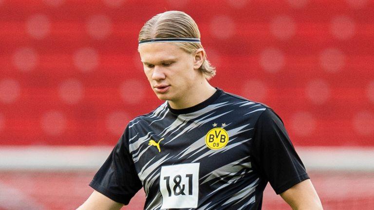 Ерлинг Халанд је повезан са бројним клубовима, укључујући Манцхестер Цити