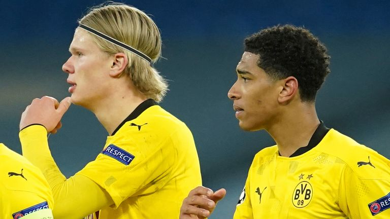 Erling Haaland and Jude Bellingham combined to see up Marco Reus
