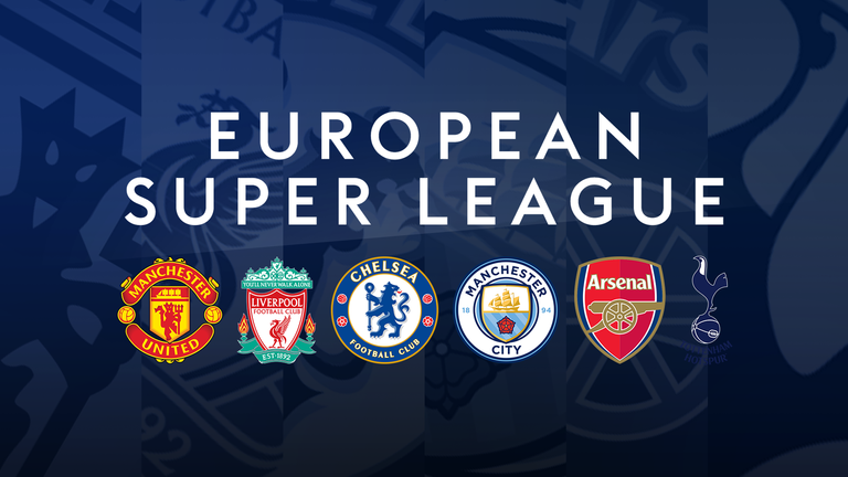 England's 'big six' have agreed to sign up to a breakaway European Super League