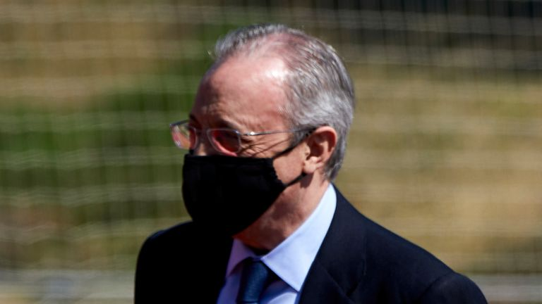 Florentino Perez  has been re-elected as President of Real Madrid