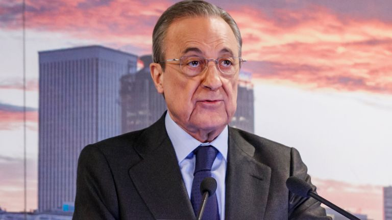 Florentino Perez (Getty)