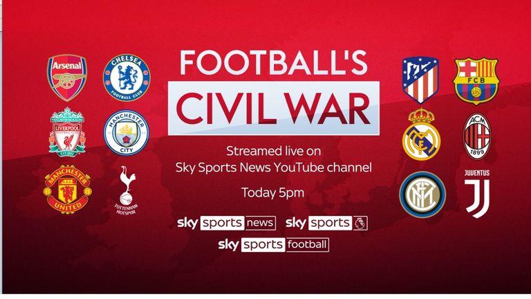 Football Civil war