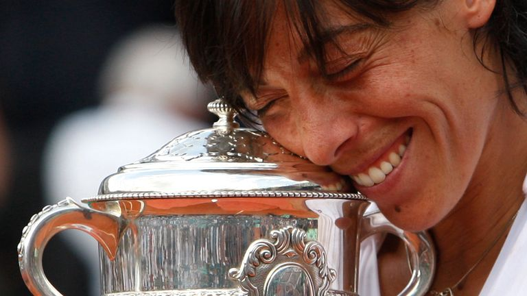 Francesca Schiavone won the French Open in 2010