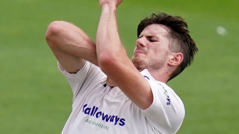 Sussex fast bowler George Garton has been called up