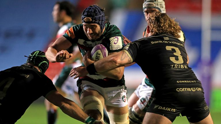 George Martin takes on the Connacht defence