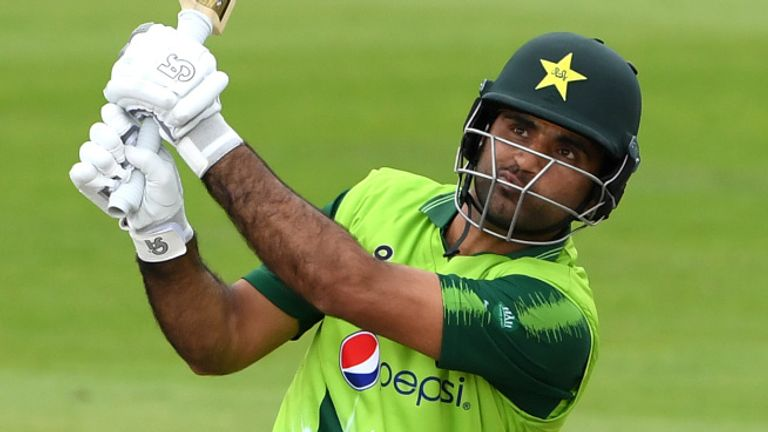 Fakhar Zaman's 60 for Pakistan came off just 34 deliveries
