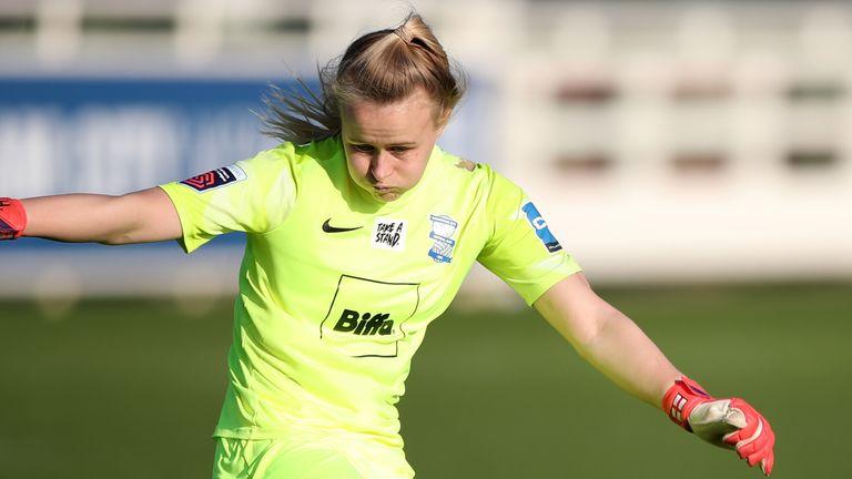 Birmingham City goalkeeper Hannah Hampton has been named to the England squad