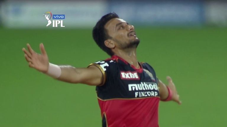Harshal Patel stunning final over proved crucial in RCB claiming a dramatic win over Mumbai