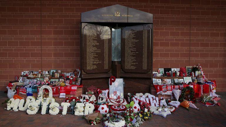 PA - Hillsborough memorial