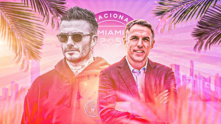 David Beckham/Phil Neville Inter Miami