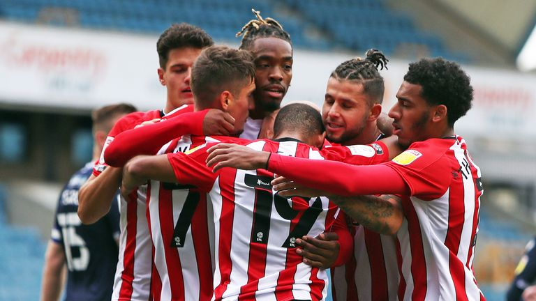 It was against Millwall on September 26 that Ivan Toney struck his first goal in a Brentford shirt