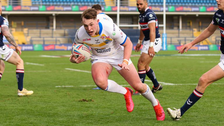 Jack Broadbent has made a big early impression with Leeds