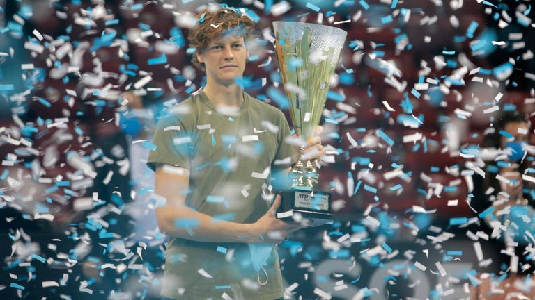 The teenager collected the Sofia Open ATP 250 title in November