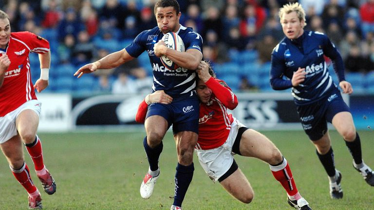 Jason Robinson played 159 games for Sale Sharks
