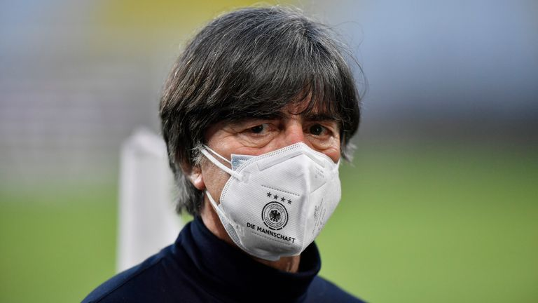 Joachim Low, who is to step down in the summer, recently came under heavy criticism for Germany's defeat to North Macedonia in World Cup qualifying