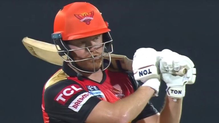 Jonny Bairstow's terrific cameo was in vain, as Sunrisers' vulnerabilities with the bat resurfaced in Chennai