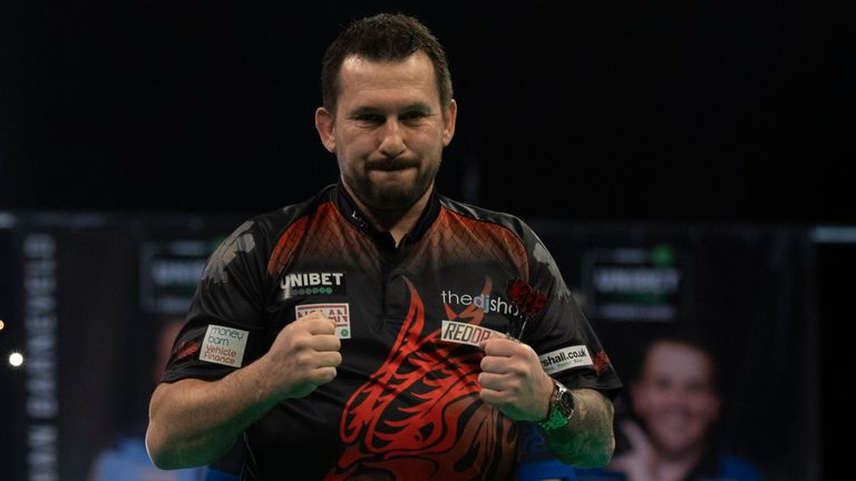 Jonny Clayton sits top of the Premier League in his first full season in the competition