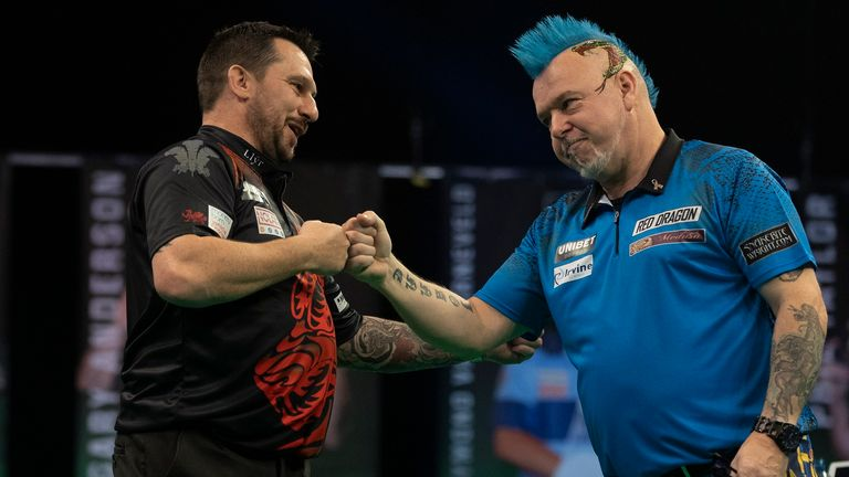 Jonny Clayton sets the Premier League Darts pace after five rounds of fixtures, PDC chief executive Matt Porter hopes the competition can finish in front of a crowd (Image: Lawrence Lustig/PDC)