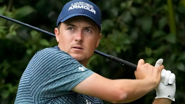 Jordan Spieth is chasing a fourth major victory