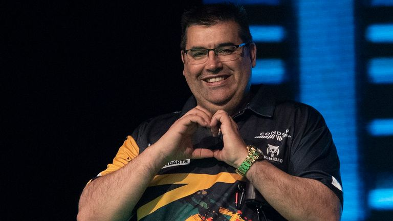 Jose de Sousa won Saturday's Players Championship in Niedernhausen, Germany (photo courtesy of Lawrence Lustig/PDC)