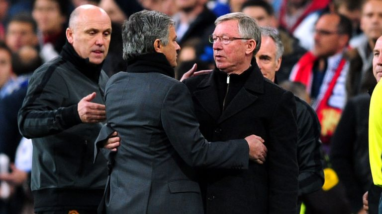 Jose Mourinho thinks Sir Alex Ferguson would agree with him about the importance of trophies