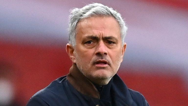 Jose Mourinho (AFP)