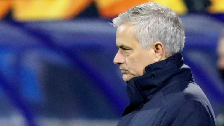 Tottenham boss Jose Mourinho will be looking to once again get the better of former side Manchester United this weekend