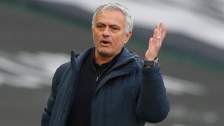 Jose Mourinho (AP)