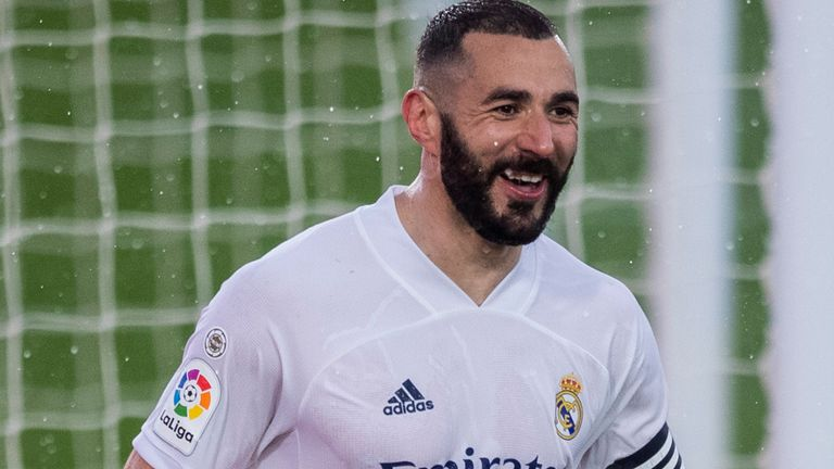 Karim Benzema has now scored nine goals in seven Real Madrid games