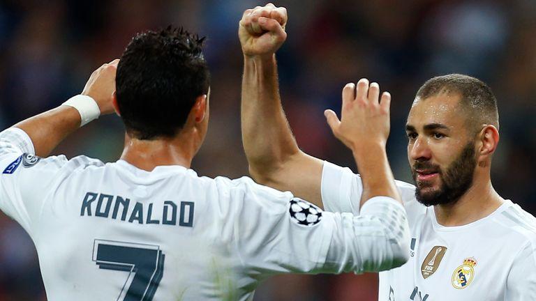 Benzema, Ronaldo