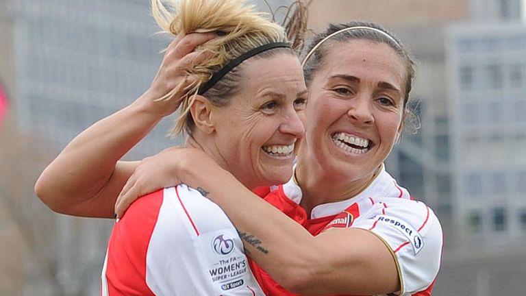 Kelly Smith and Fara Williams (Getty)