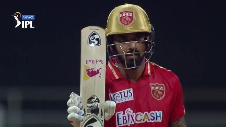 KL Rahul scored a typically elegant 91 from 50 balls for Punjab Kings