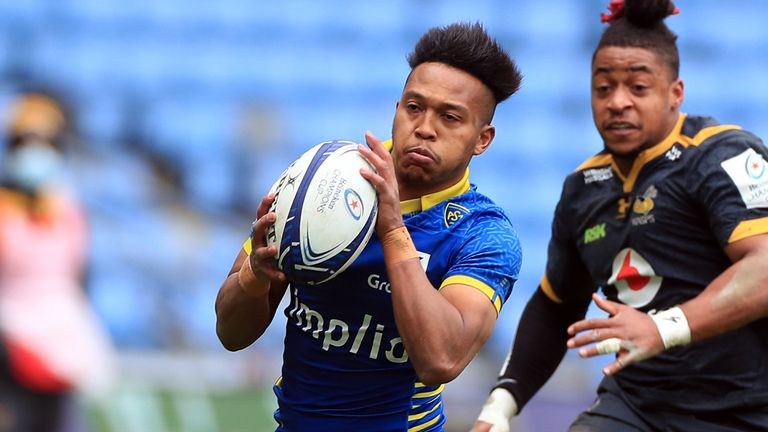 Kotaro Matsushima's converted try snatched victory for Clermont against Wasps