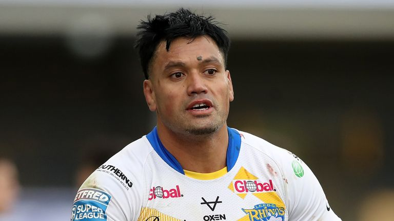 Zane Tetevano was shown the first red card of his career against St Helens