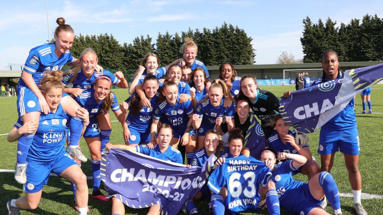 Leicester City Women will be playing in the top-flight for the first time next season