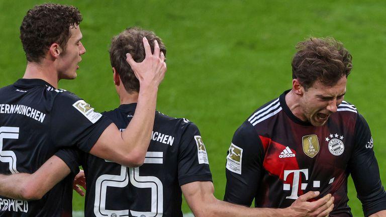 Leon Goretzka opened the scoring for Bayern