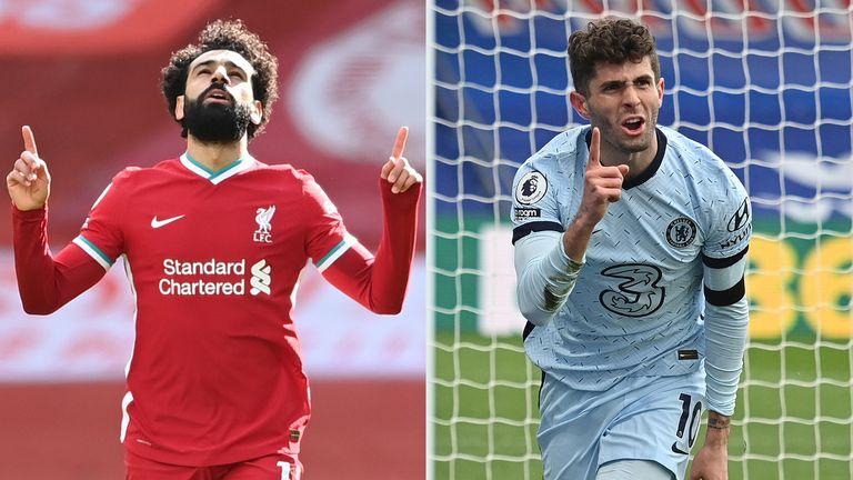 Liverpool Chelsea Mo Salah Christian Pulisic