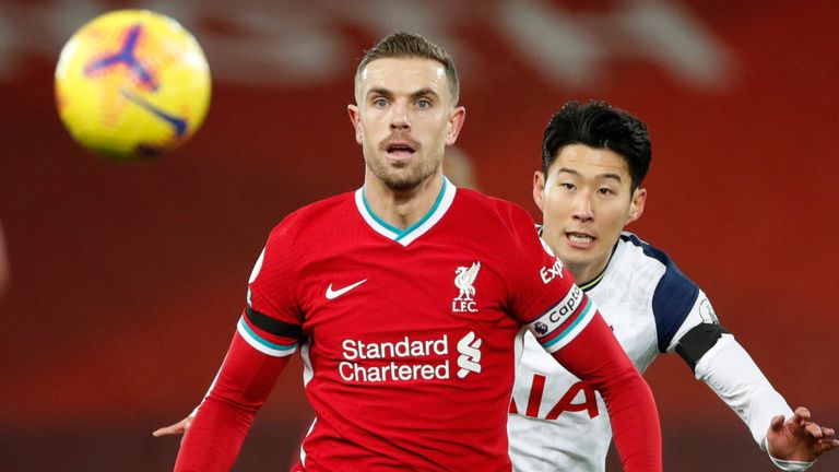 Liverpool captain Jordan Henderson is determined to stay on social media to make a difference