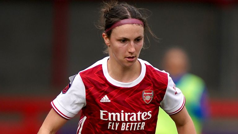 Lotte Wubben-Moy, Arsenal